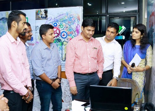 Shri Balakiran IAS launching website of erudo