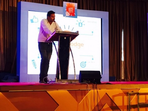 Deepak, Co Founder, addressing IEDC Crowd trivandrum on Technolodges